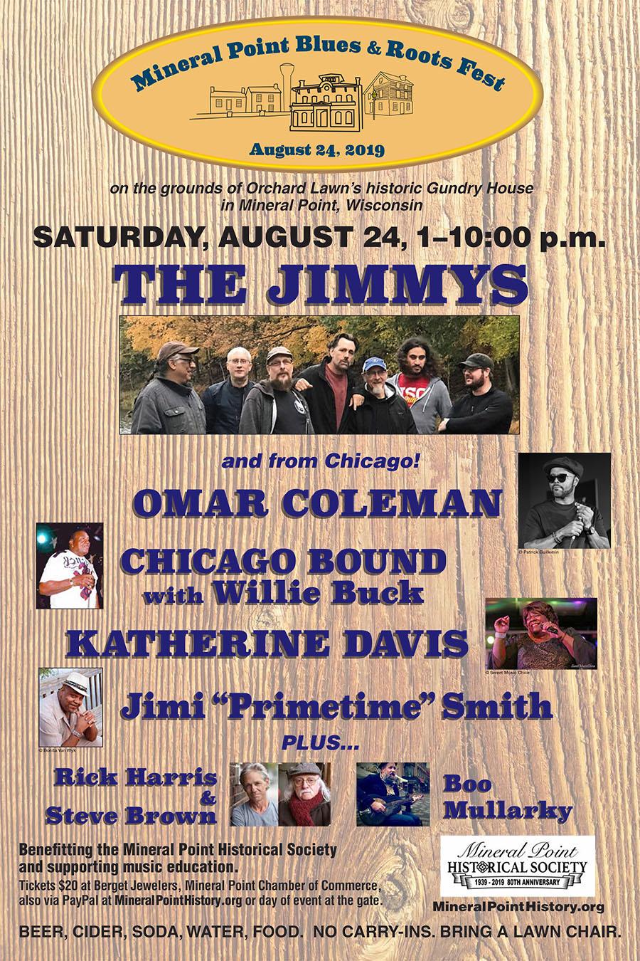 Blues Fest Poster